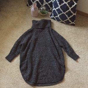 Turtleneck marled express sweater XS